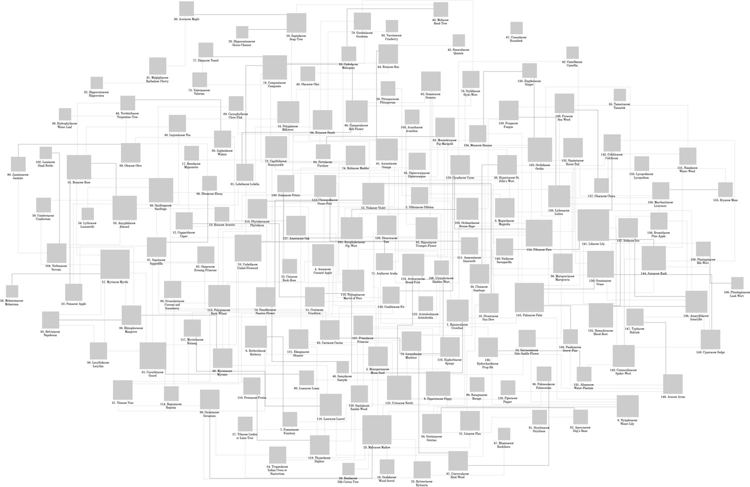 Initial export from Cytoscape