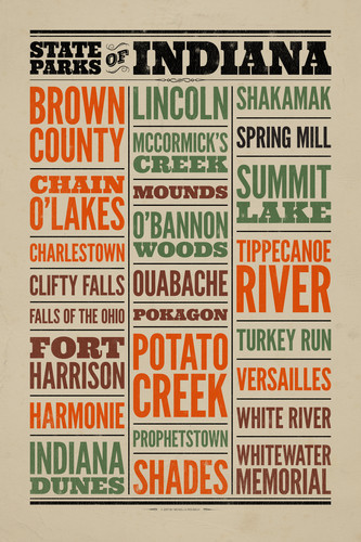 State Parks of Indiana