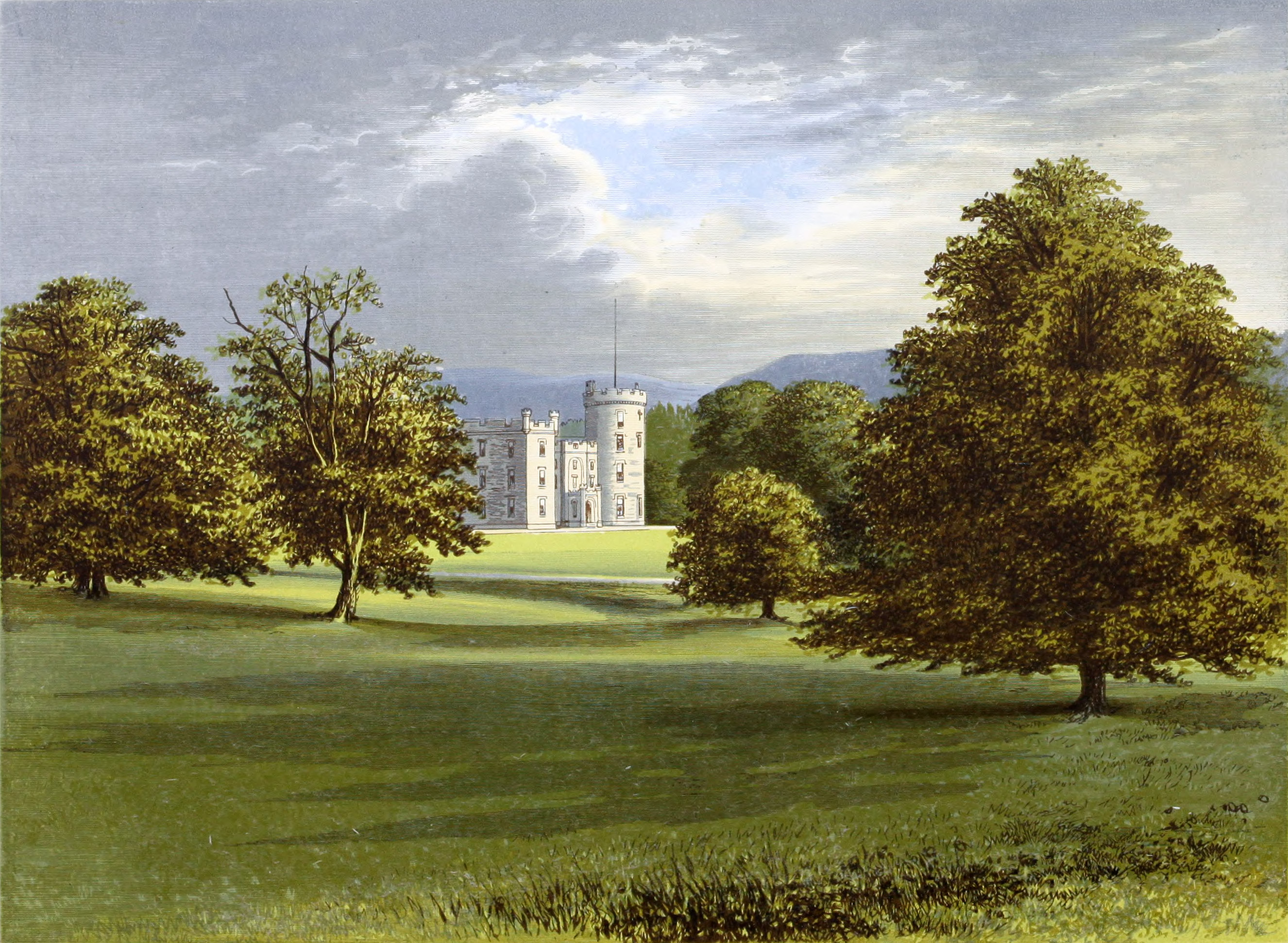 Aberdeenshire Ant near Whitehouse The House of the Lord Forbes Castle Forbes